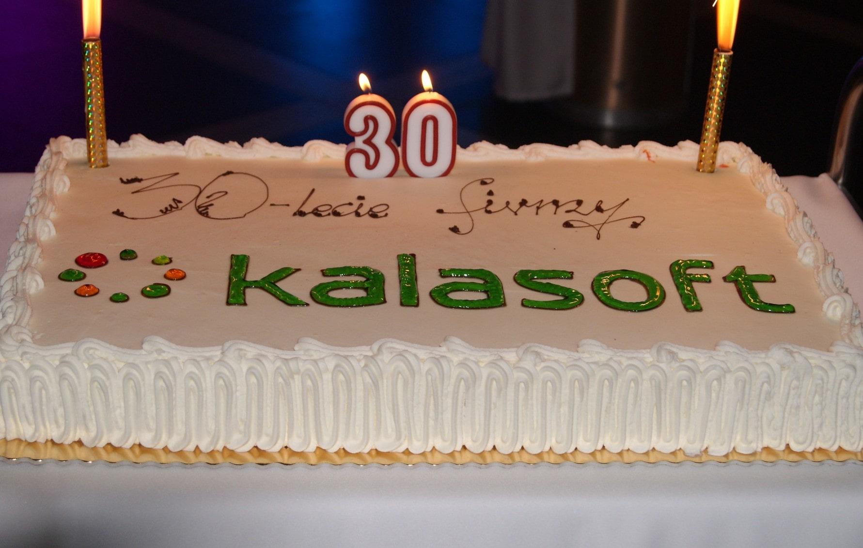 Tort - 30-lecie Kalasoft