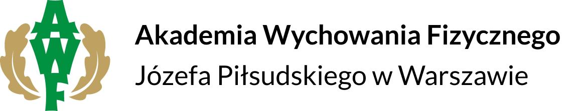 Logo - Akademia Wychowania Fizycznego Józefa Piłsudskiego w Warszawie